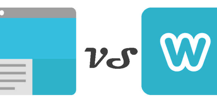Google Sites vs. Weebly Graphic